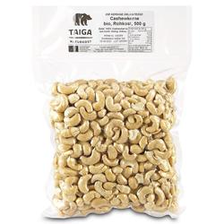 Taiga Naturkost - Cashew-Kerne - Bio - Rohkost-Qualität - 500 g