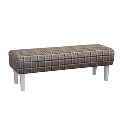 Steinpol Sit&More Sitzbank Paisley in coffee