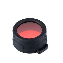 Nitecore LED Taschenlampe Nitecore Taschenlampen Farbfilter 50 mm - rot
