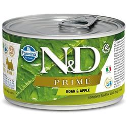 FARMINA N&D WILDSCHWEIN & APFEL ADULT NASSFUTTER MINI 140g