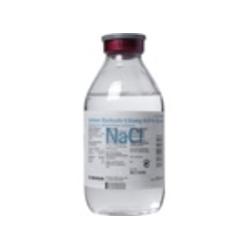 Isotone Kochsalz-Lösung 0,9% Glasflasche