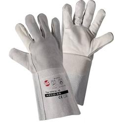 L+D Kombi 1810 Rindspaltleder Schweißerhandschuh Größe (Handschuhe): 10, XL EN 12477-A, EN 388 ,