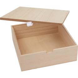 VBS Aufbewahrungsbox, Holz, (2-tlg), 2 Teile