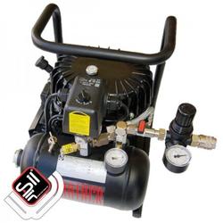 Black Panther P50-TC Kompressor Flüster-Leise mit nur 40 dB(A)/lm, Silair, Silent Kompressor