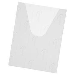 25 Selbstklebende Schaltplantaschen DIN A4 transparent, EICHNER, 24x32 cm