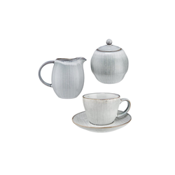 BUTLERS Single Geschirr-Set HENLEY Kaffee-Set 6-tlg.