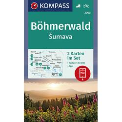 Böhmerwald sumava 1:50 000