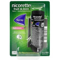 Nicorette Fruit & Mint Spray 13.2 ml
