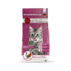 O'CANIS Trockenfutter für Katzen: Gans und Huhn 600 g