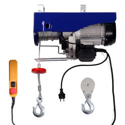 Seilwinde für 600 kg 12m ► Elektrisch mit 230 V