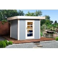 weka Designhaus 172 2,35 x 2,40 m grau