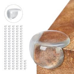 96 x Eckenschutz Baby Möbel Schutzecken Stoßschutz Tischeckenschutz transparent