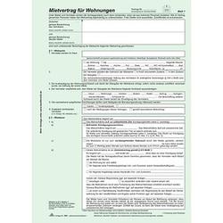 10 RNK-Verlag Mietverträge 524/10 - Universal-Mietvertrag für Wohnungen mit Übergabeprotokoll und Wohnungsgeberbescheinigung