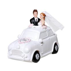 Udo Schmidt Bremen...das Original Spardose Spardose Brautpaar im Auto Hochzeit 14 cm Sparschwein Sparkasse Just married