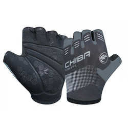 Chiba Fahrradhandschuhe Handschuh Chiba Solar kurz Gr. XXL / 11, schwarz