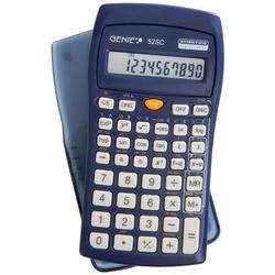 Taschenrechner 52 SC 136 Funktionen blau