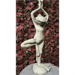 Yoga Frosch Baum