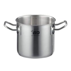 ELO Profi Therm Gemüsetopf ohne Deckel, Edelstahltopf geeignet für alle Herdarten, auch für Induktion, Durchmesser: 24 cm, 8,5 Liter