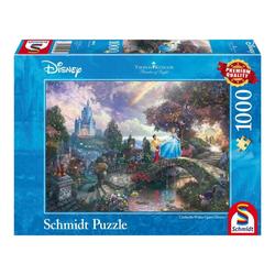 Schmidt Spiele Puzzle Disney Cinderella Thomas Kinkade, 1000 Puzzleteile