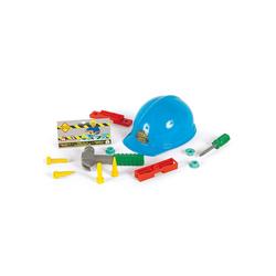 THE TOY COMPANY® Spielwerkzeug Helm mit Werkzeug