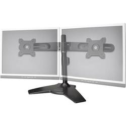 Digitus DA-90322 2fach Monitor-Standfuß 38,1cm (15 ) - 61,0cm (24 ) Neigbar, Schwenkbar