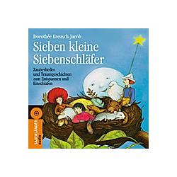 Sieben kleine Siebenschläfer  Audio-CD - Hörbuch