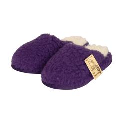 Licardo Hausschuhe Wellness-Pantoffel Wolle lila Hausschuh 44/45