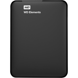 Western Digital Elements Portable 750 GB USB 3.0 schwarz WDBUZG7500ABK-WESN