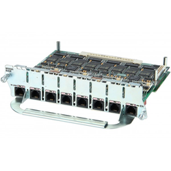 Cisco - NM-8AM= - 8 Port Analog Modem Network Module, Spare