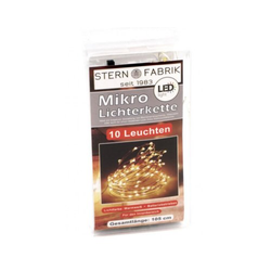 LED Lichterkette mit 10 Mikro LEDs