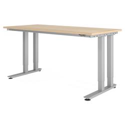 RINO 18 S | 180x80 | Schwerlast-Tisch - Eiche