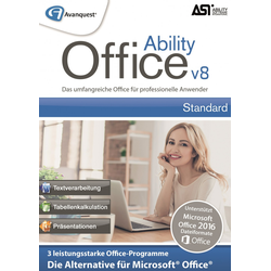 Ability Office 8 BOX mit CD