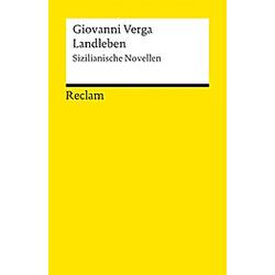Landleben. Giovanni Verga  - Buch