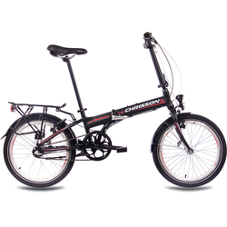 Chrisson Faltrad Foldrider 2.0, 3 Gang Shimano Nexus Schaltwerk, Nabenschaltung (1-tlg.) schwarz Falträder Klappräder Fahrräder Zubehör Fahrrad