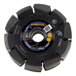 RHODIUS LD403 ALL IN ONE Diamantfräse 125 x 7,0 x 28,5 x 22,23 mm