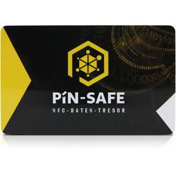 PIN-SAFE Speicherkarte offline Daten-Tresor android & iOS inkl 2.Karte schwarz