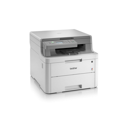 Brother 3-in-1 Farb-Multifunktionsgerät mit WLAN Laserdrucker, (WLAN (Wi-Fi), NFC)