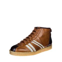 Zeha Trainer high - cognac / cream / brown