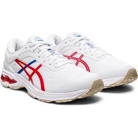 ASICS Gel-Kayano 26 M white/classic red 42