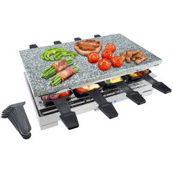 Steba Raclette RC 78, 8 Raclettepfännchen, 1200 W