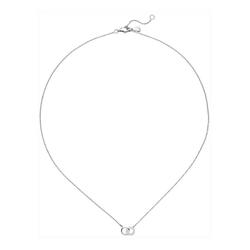 JOBO Collier, 925 Silber mit 13 Zirkonia 45 cm