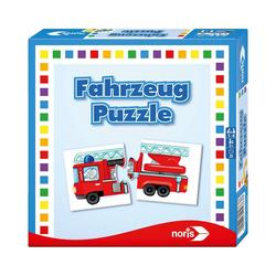 Noris Puzzle Fahrzeug- Puzzle, Puzzleteile