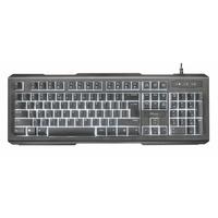 Trust Lito Backlit Multimedia Keyboard DE (22043)