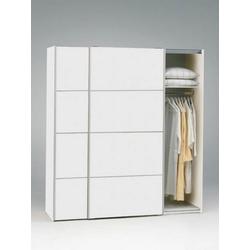 ebuy24 Kleiderschrank Verona Schwebetürenschrank Breite 182 cm, Höhe 201