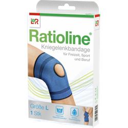 RATIOLINE active Kniegelenkbandage Gr.L 1 St