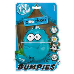 Coockoo Hundespielzeug Bumpies mit Seil Mint, Maße: 11 x 8,7 x 7,5 cm