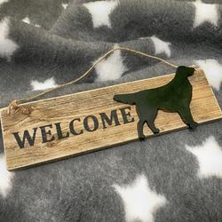 "MATDOX Shabby ""Welcome"" - Schild 1"