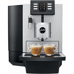 JURA X8 Platin (15413) + 2 Pakete Jura Kaffee GRATIS!