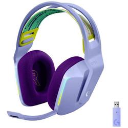 Logitech Gaming G733 LIGHTSPEED Gaming Headset 2.4GHz Funk schnurlos, Stereo On Ear Lila