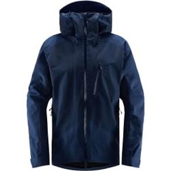 Haglöfs - Niva Jacket Men Tarn Blue Solid  - Skijacken - Größe: S